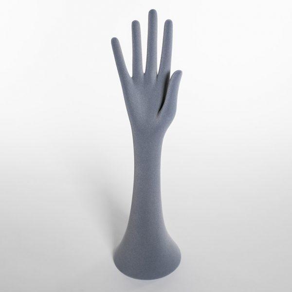 mano lunga floccata