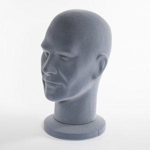 testa espanso uomo